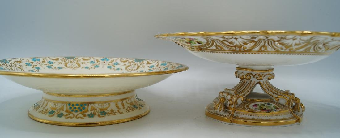 2 CAKE STANDS, ONE MINTON - 6