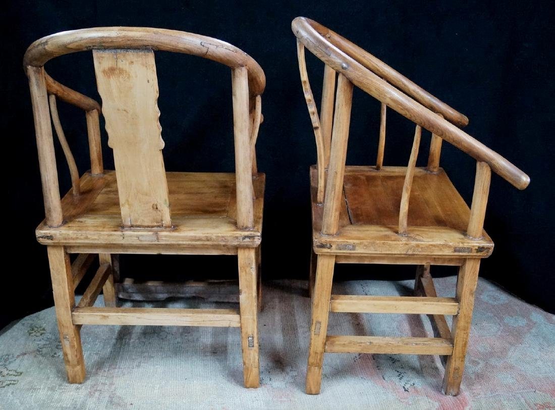 PR. WOOD OX BOW CHAIRS - 7