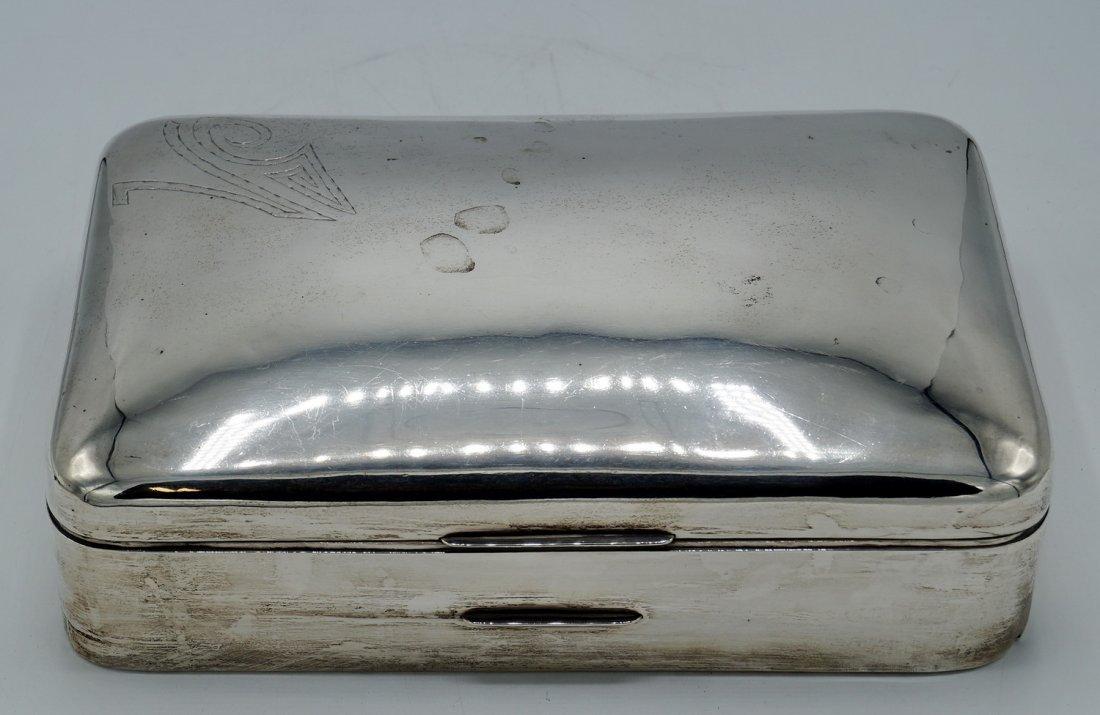 800 (?) SILVER BOX