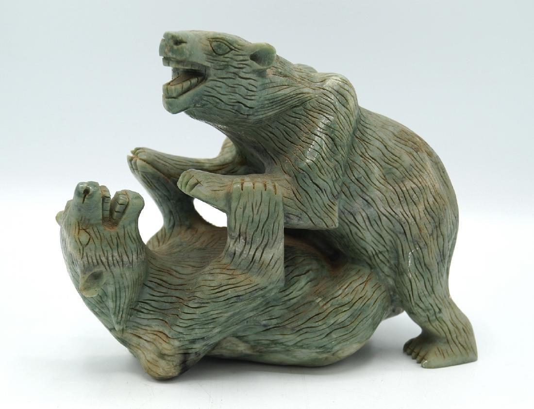 ASIAN HARDSTONE GROUP; BEARS