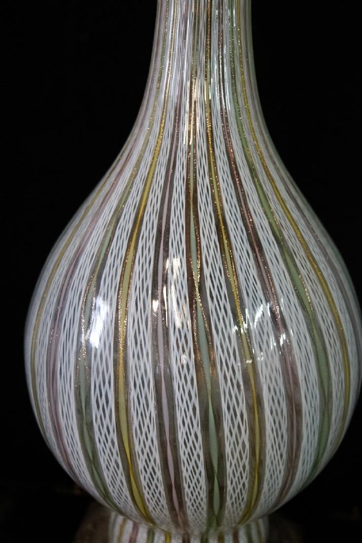 MID CENTURY VENETIAN GLASS LAMP - 3