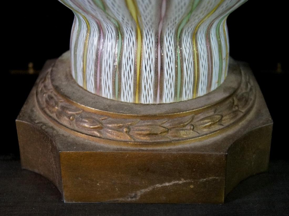 MID CENTURY VENETIAN GLASS LAMP - 4