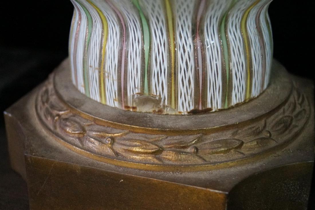 MID CENTURY VENETIAN GLASS LAMP - 5