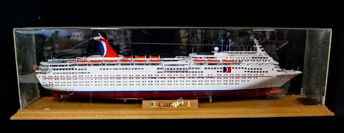 CARNIVAL FANTASY SHIP IN CASE