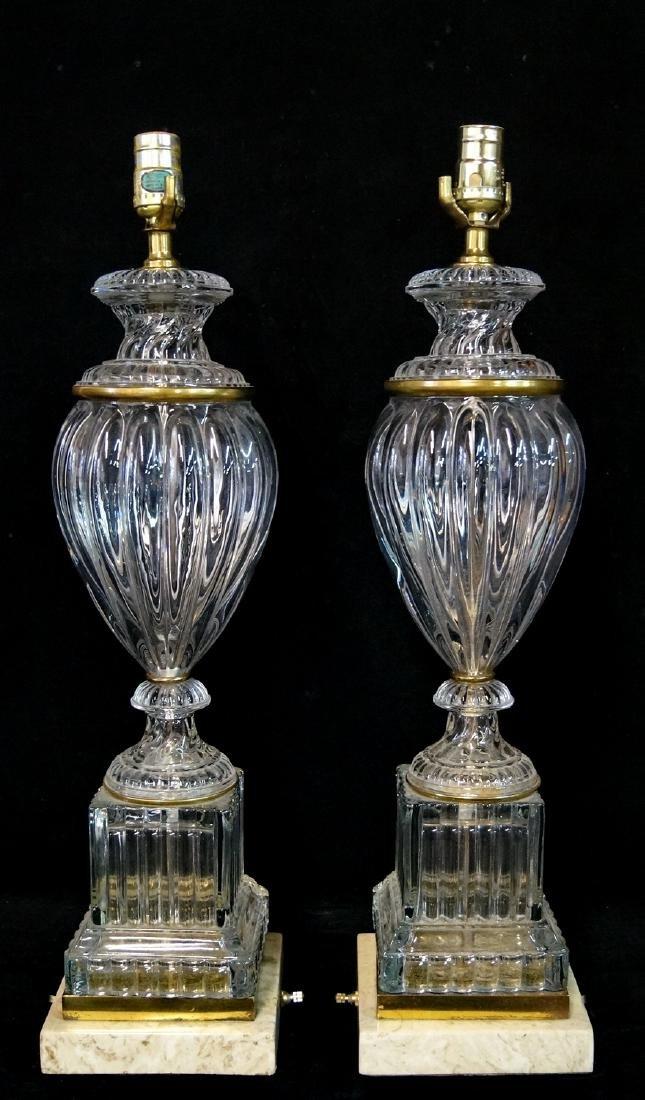 PR. BACCARAT STYLE LAMPS