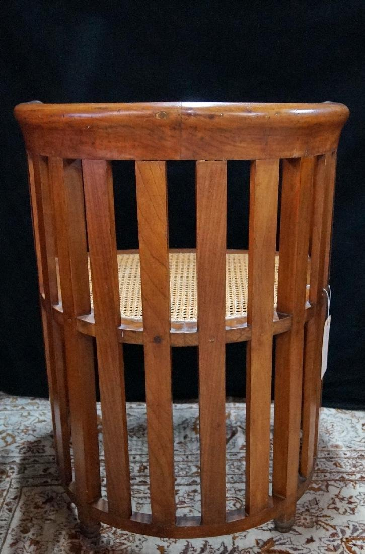 PR. ARTS & CRAFTS CANED CHAIRS - 4