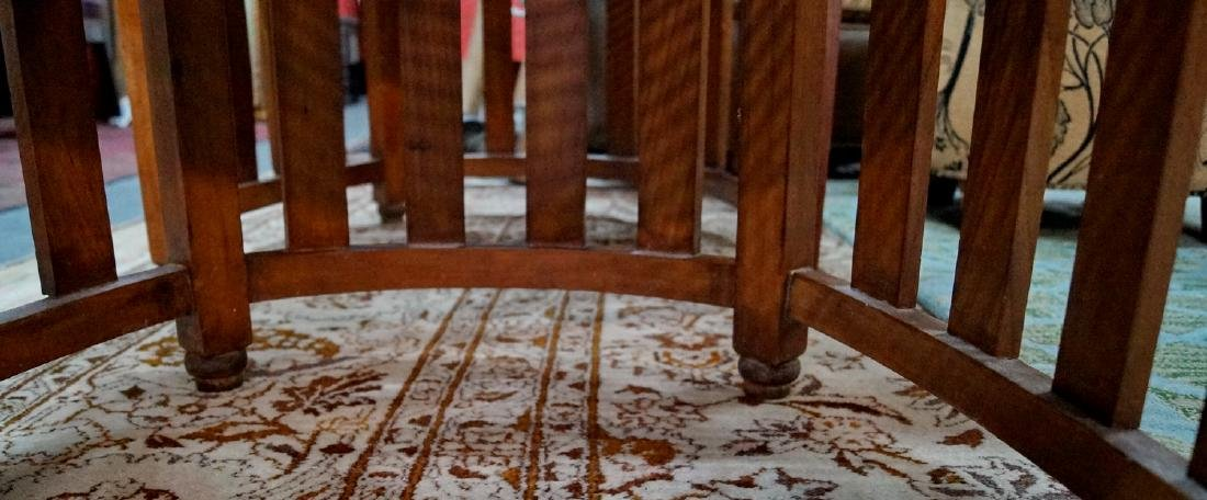 PR. ARTS & CRAFTS CANED CHAIRS - 6