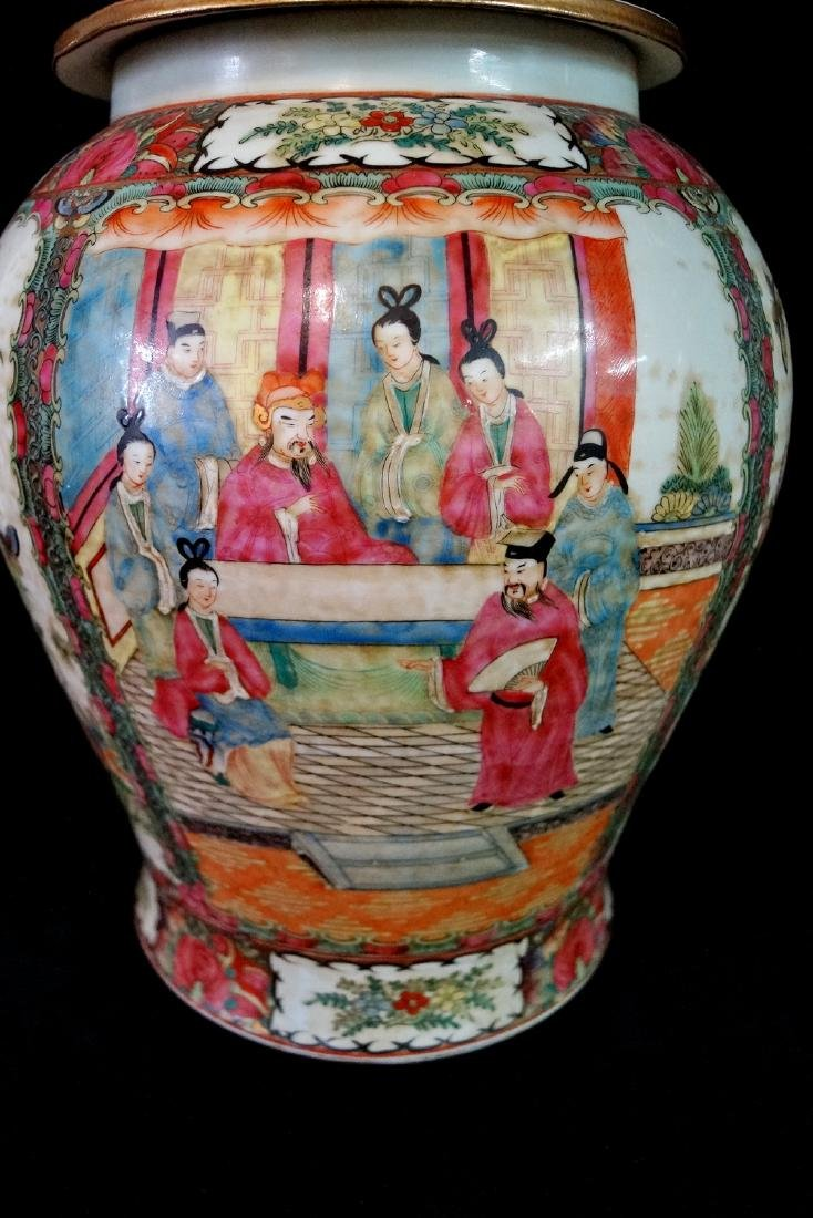 PR. ORIENTAL PORCELAIN COVERED JARS - 2