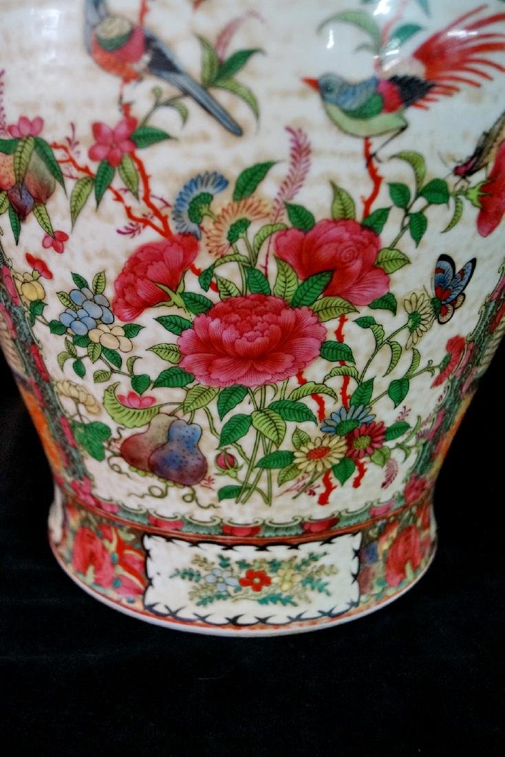 PR. ORIENTAL PORCELAIN COVERED JARS - 7