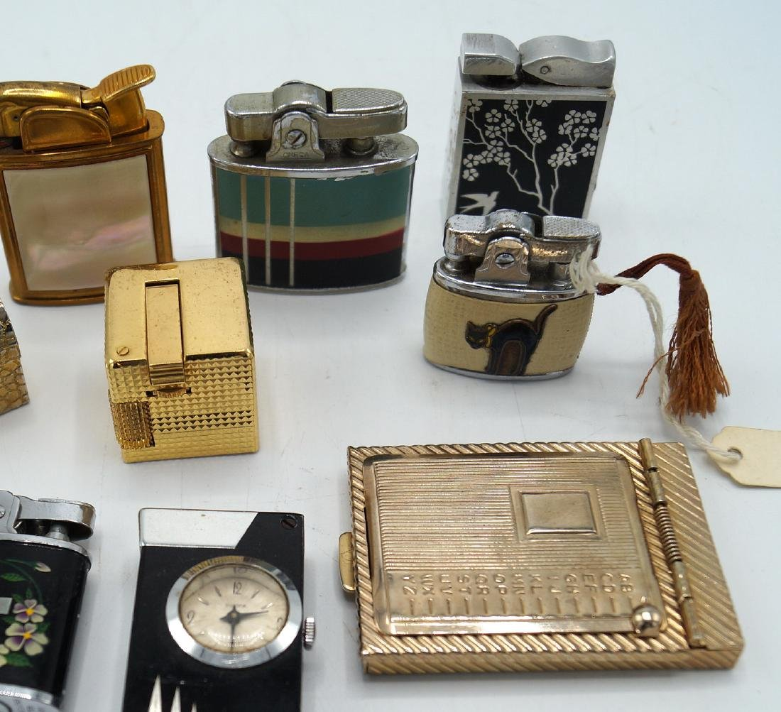 TRAY LOT 7 VINTAGE LIGHTERS - 3