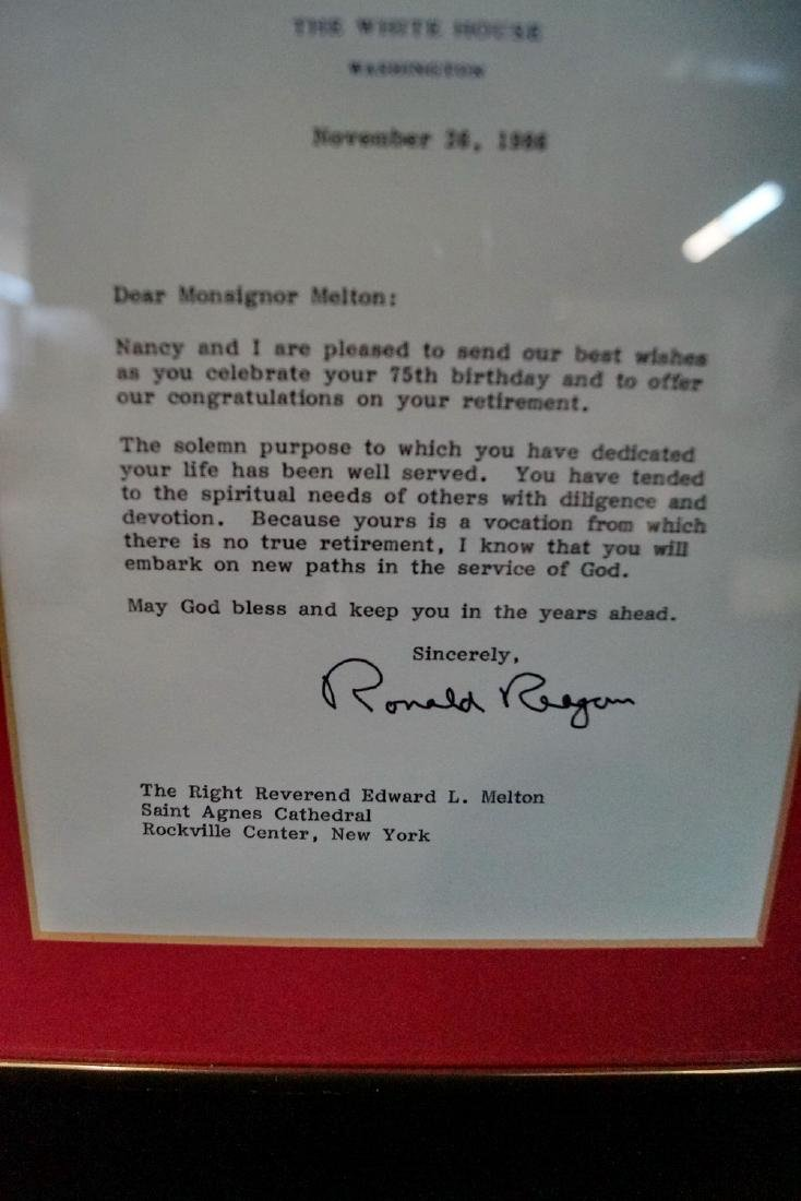 SGN. LETTERS RONALD REAGAN & JIMMY CARTER - 3