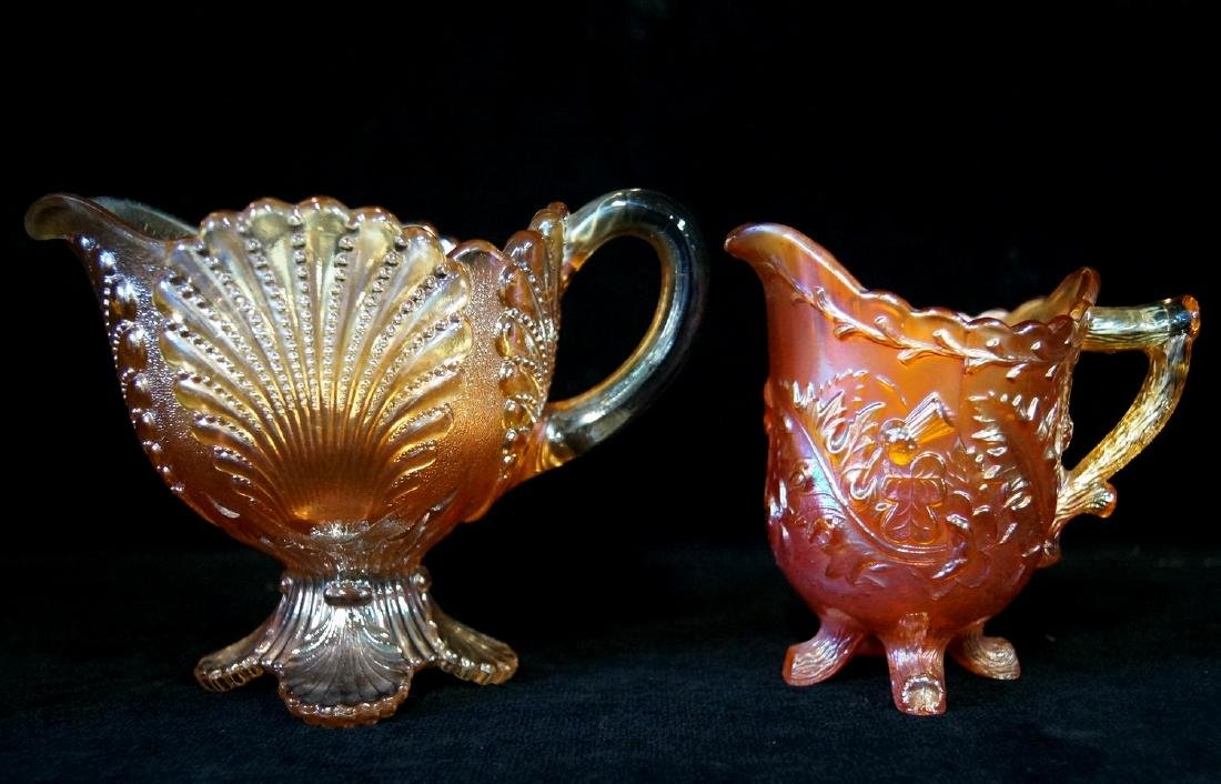 LARGE LOT CARNIVAL GLASS - 6