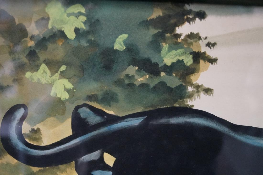 """PR. CARLO SGN. WORKS ON PAPER """"PANTHERS"""" - 3"""