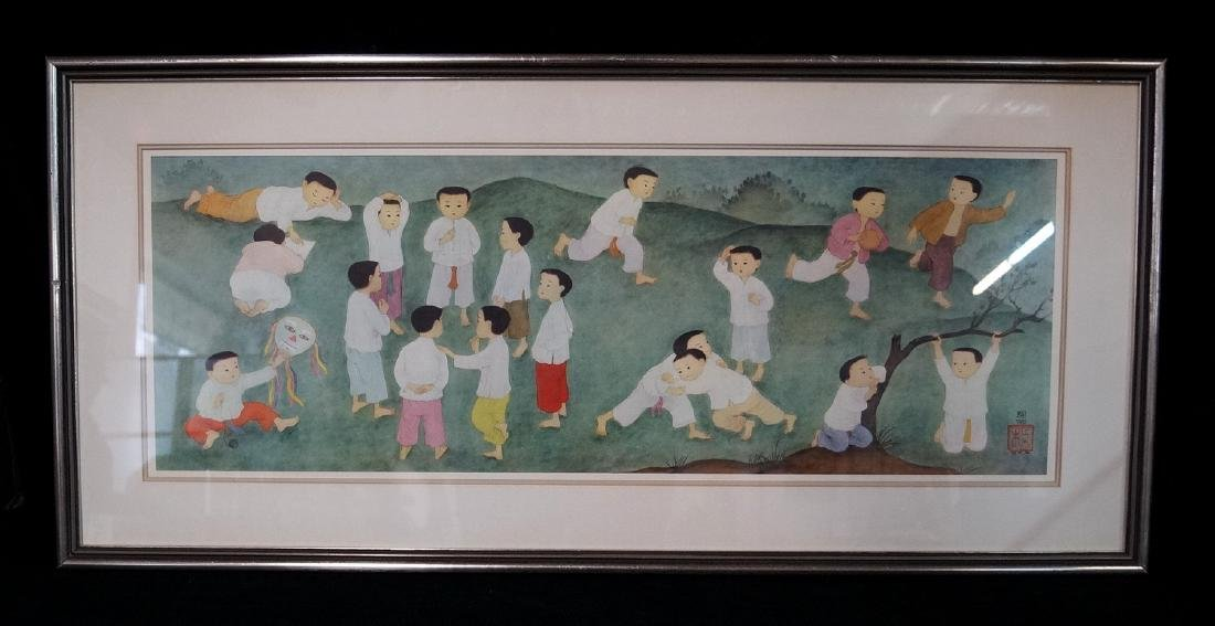 "MAI THU PRINT ""CHILDREN"""