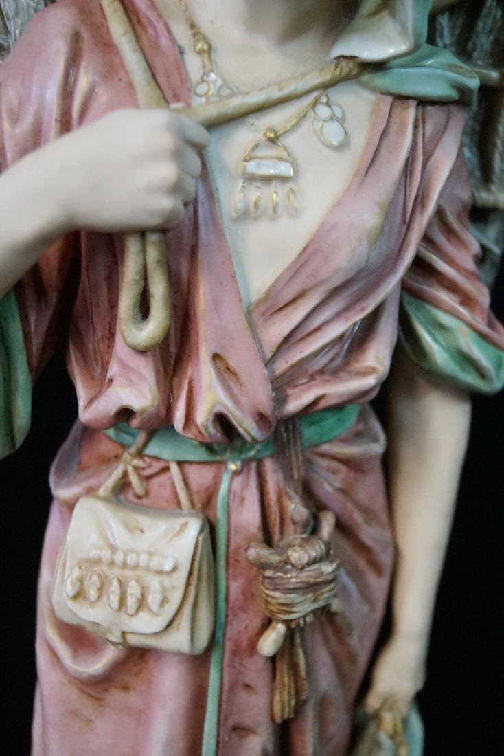 "ROYAL DUX FIGURE ""WOMAN WITH FISH"" - 3"