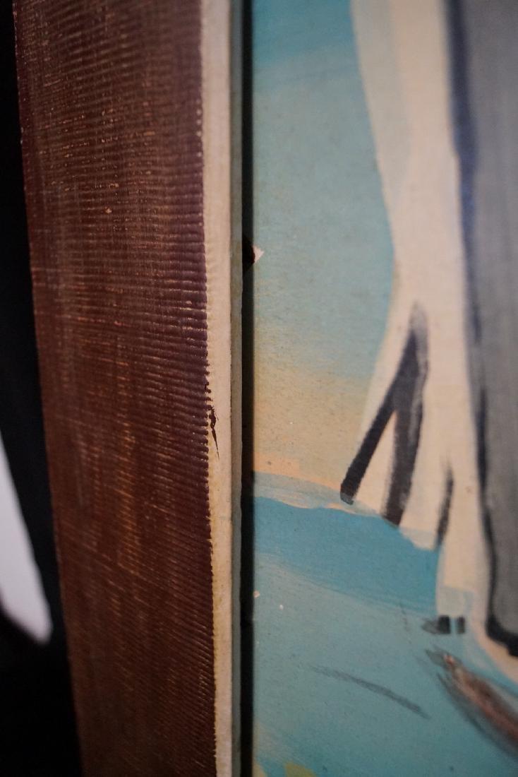 "RAOUL DUFY SGN. LITHOGRAPH ""SAILBOATS"" 1938 - 4"