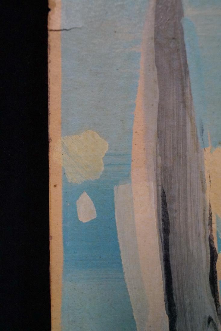 "RAOUL DUFY SGN. LITHOGRAPH ""SAILBOATS"" 1938 - 9"