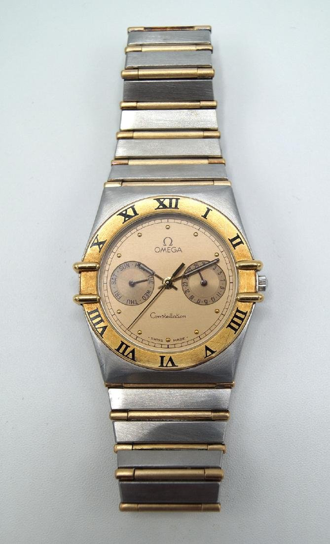OMEGA CONSTELLATION 2 TONE WATCH