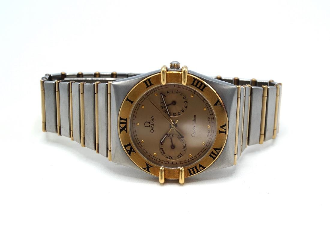 OMEGA CONSTELLATION 2 TONE WATCH - 4