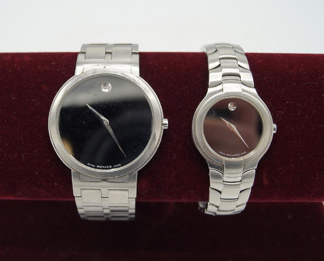 2 MOVADO WATCHES HIS & HERS