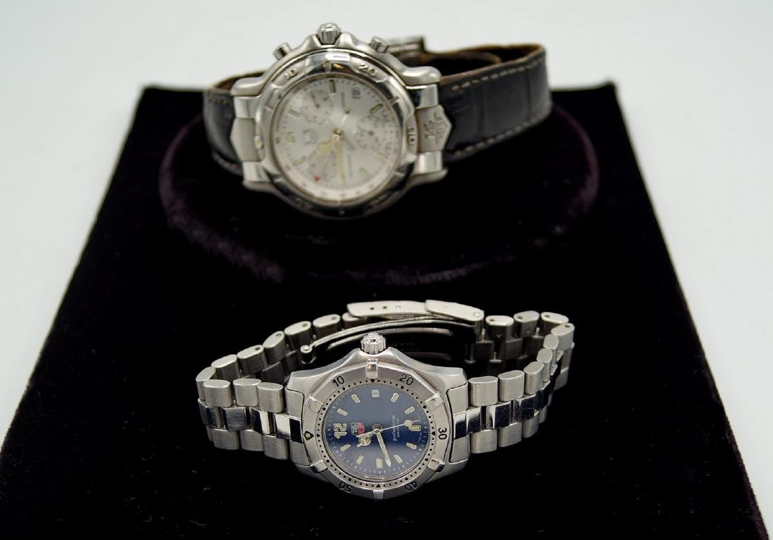2 TAG HEUER WATCHES HIS & HERS
