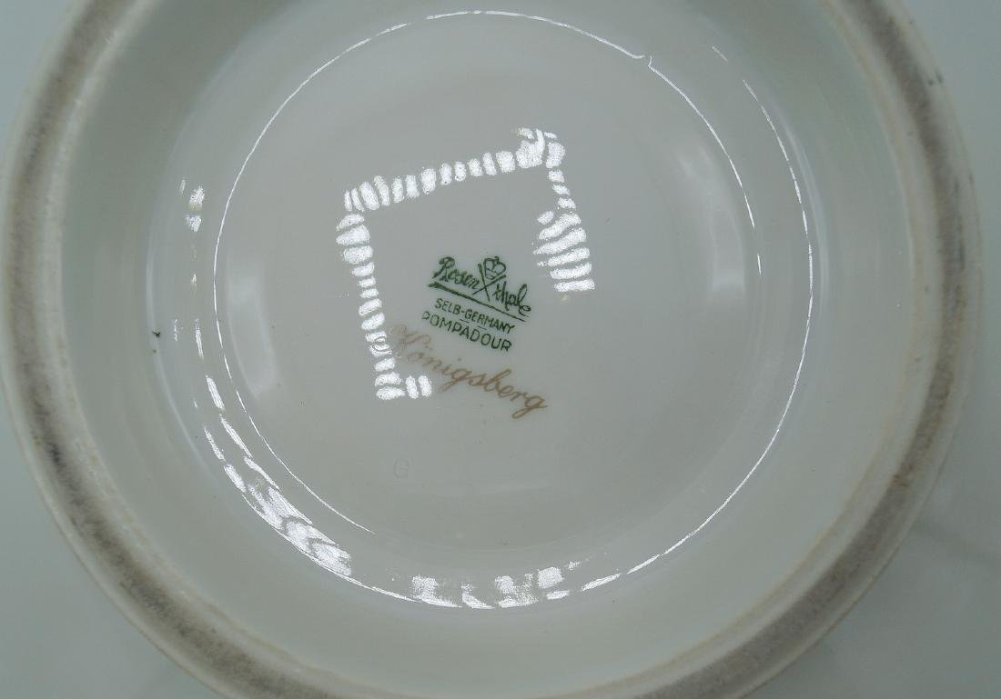 ROSENTHAL FOOTED BOWL - 5