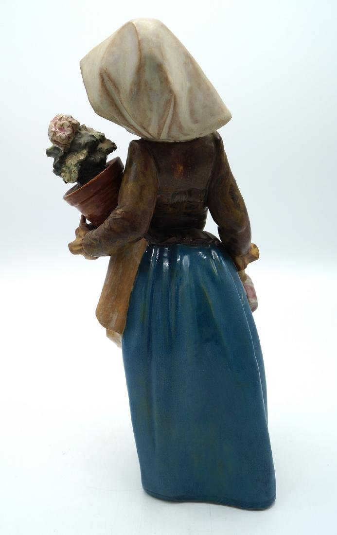 """LLADRO """"GIRL AND POTTED FLOWER"""" - 4"""