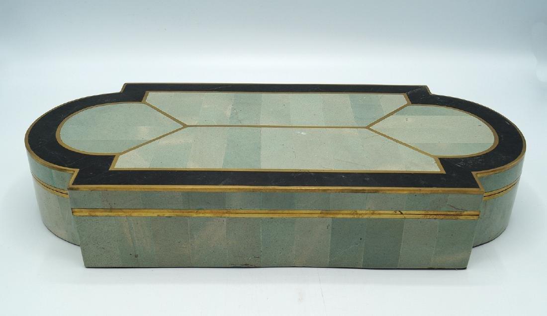 ART DECO STYLE  INLAID BOX