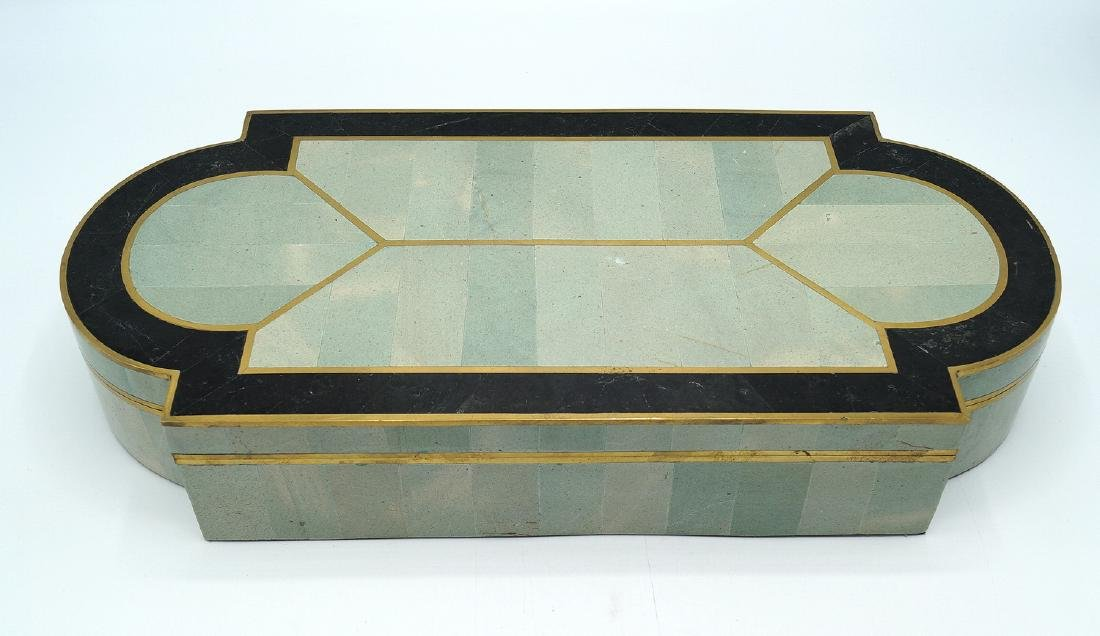ART DECO STYLE  INLAID BOX - 2