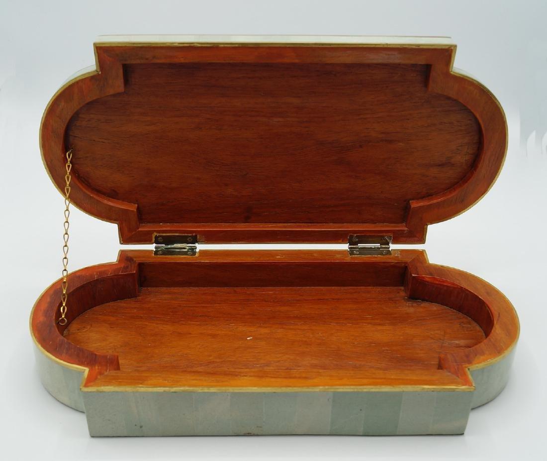 ART DECO STYLE  INLAID BOX - 3