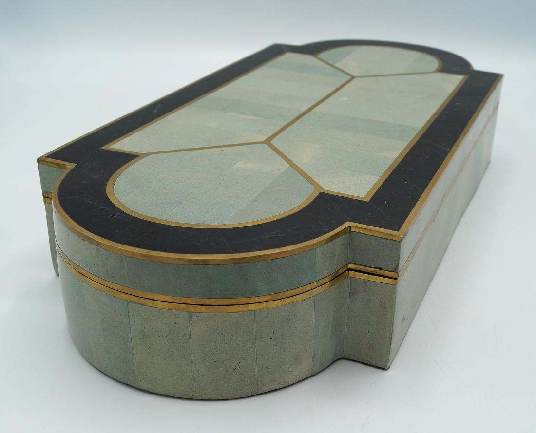 ART DECO STYLE  INLAID BOX - 4