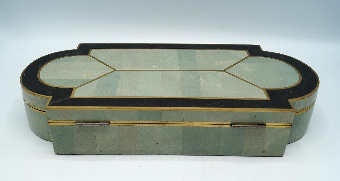 ART DECO STYLE  INLAID BOX - 6
