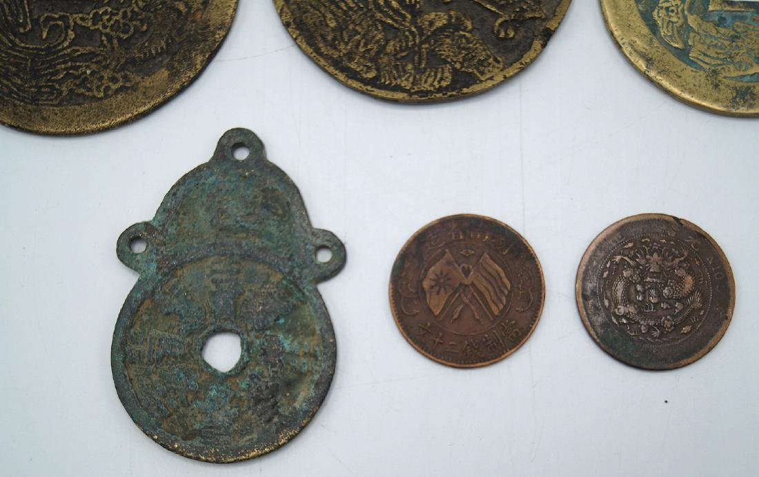 GROUP ASIAN COINS - 2