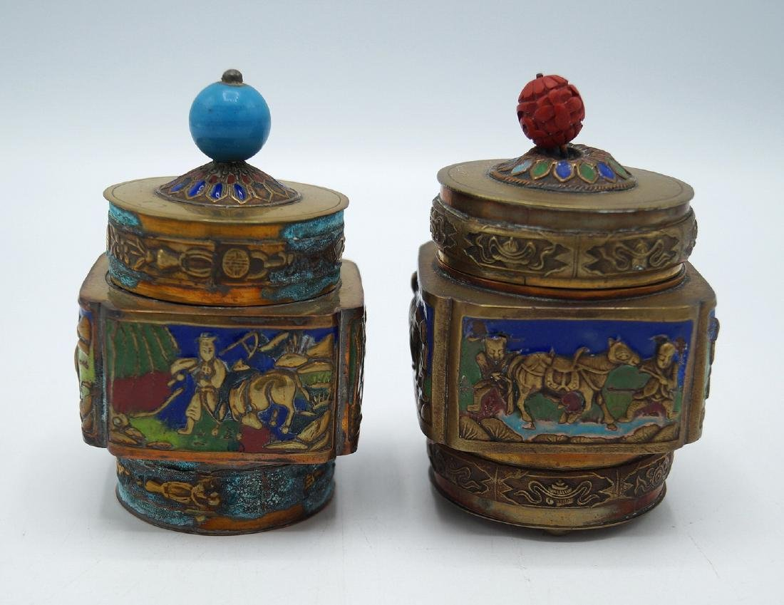 PR. ENAMELED COVERED VESSELS