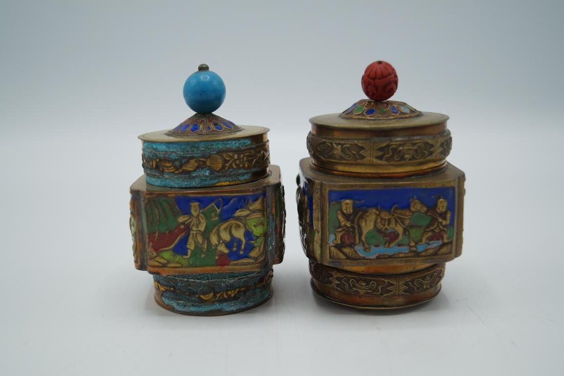 PR. ENAMELED COVERED VESSELS - 2