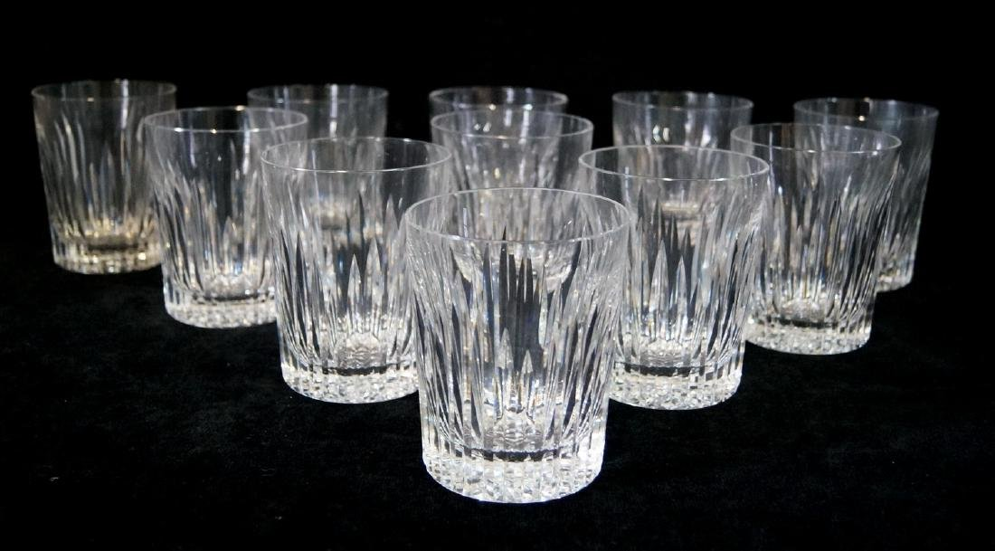 11 WATERFORD OLD FASHION GLASSES