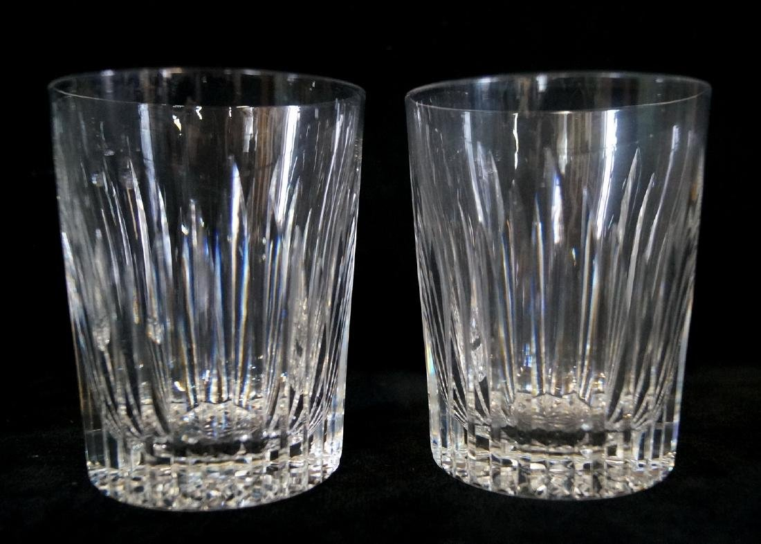 11 WATERFORD OLD FASHION GLASSES - 2