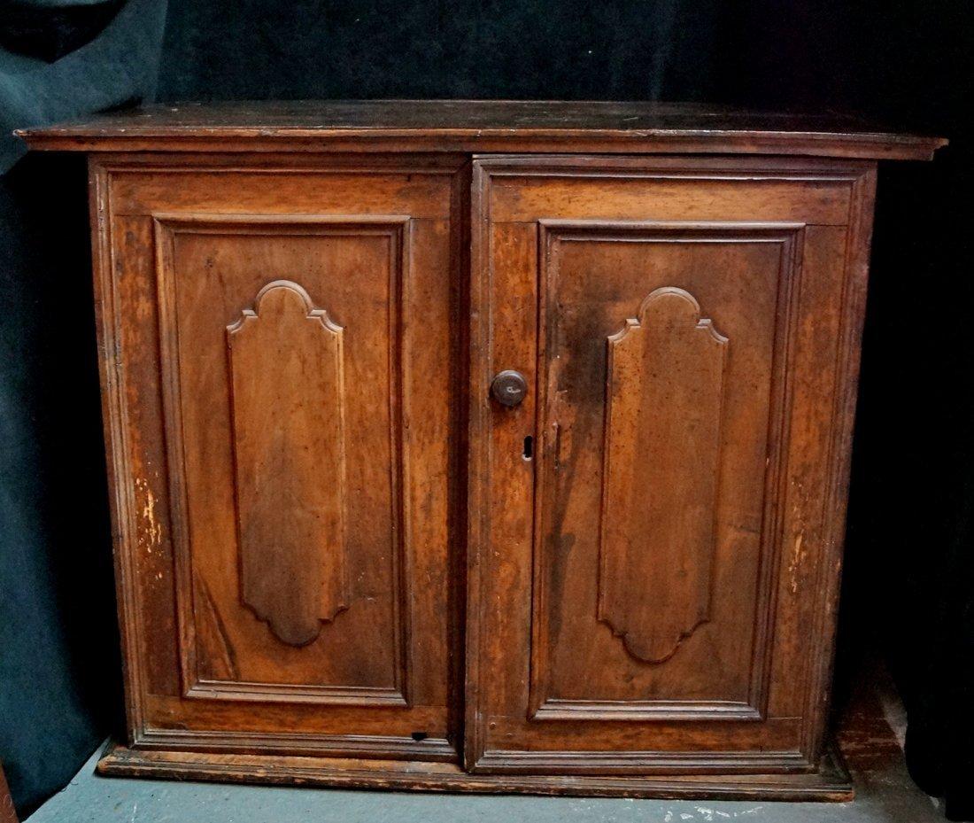 2 DOOR RAISED PANEL CABINET