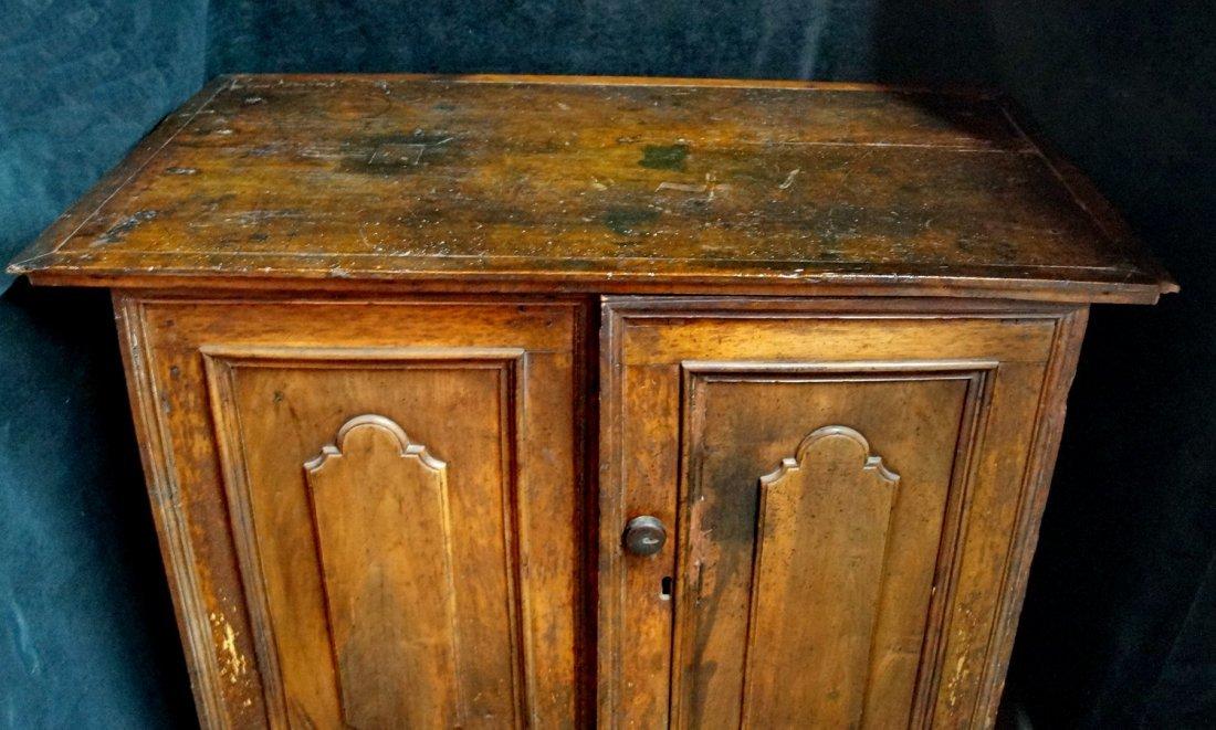 2 DOOR RAISED PANEL CABINET - 3