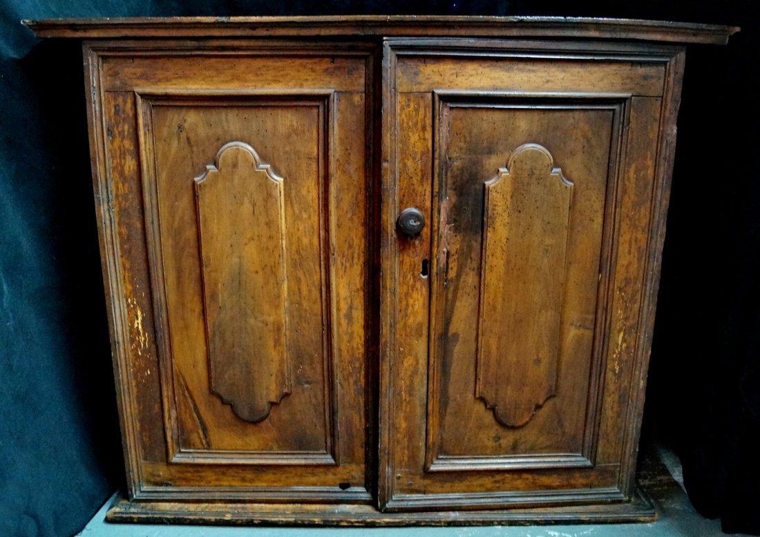 2 DOOR RAISED PANEL CABINET - 4