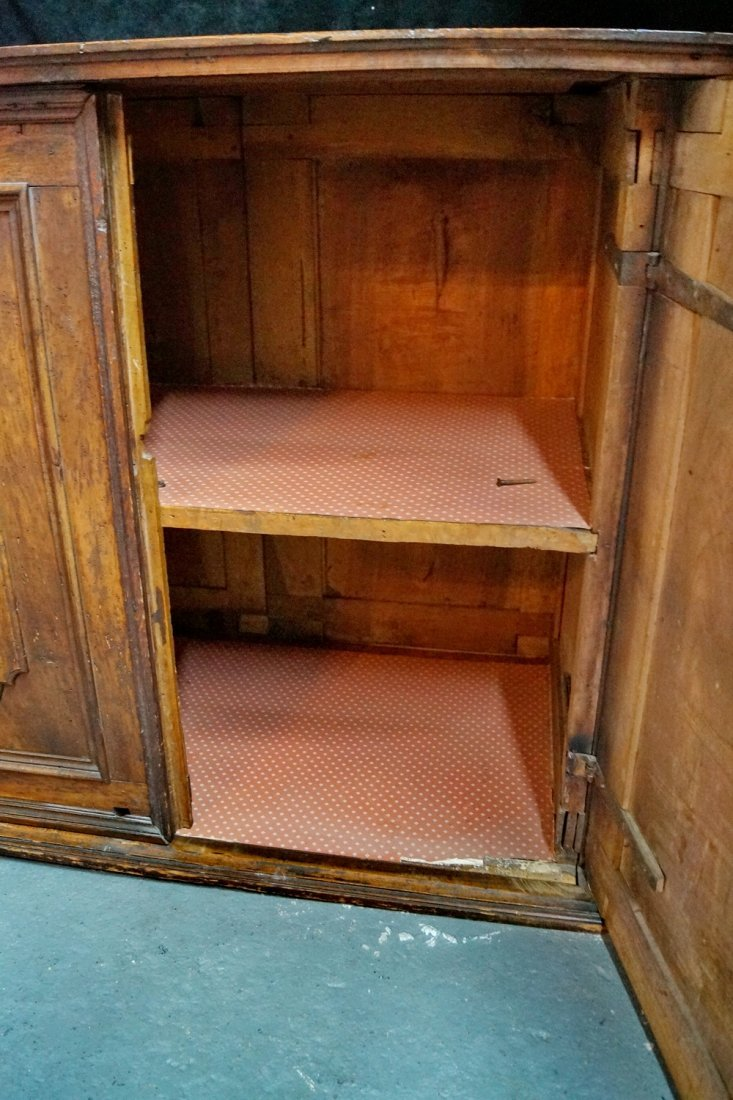 2 DOOR RAISED PANEL CABINET - 5