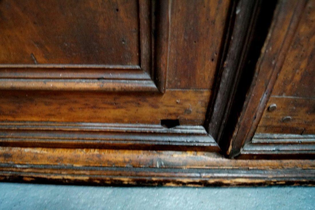 2 DOOR RAISED PANEL CABINET - 7