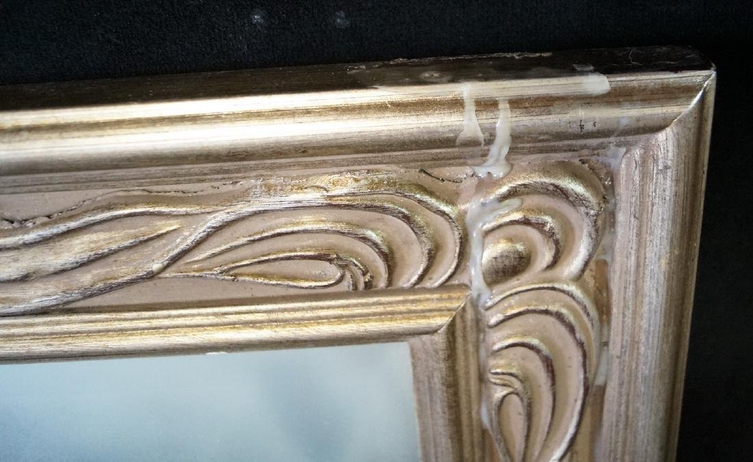 SILVERED BEVELED MIRROR - 4