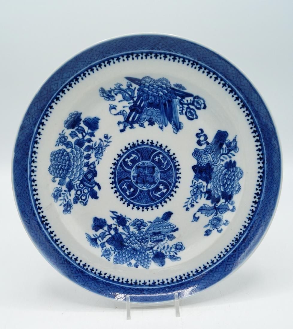 NANKING BLUE & WHITE PLATE