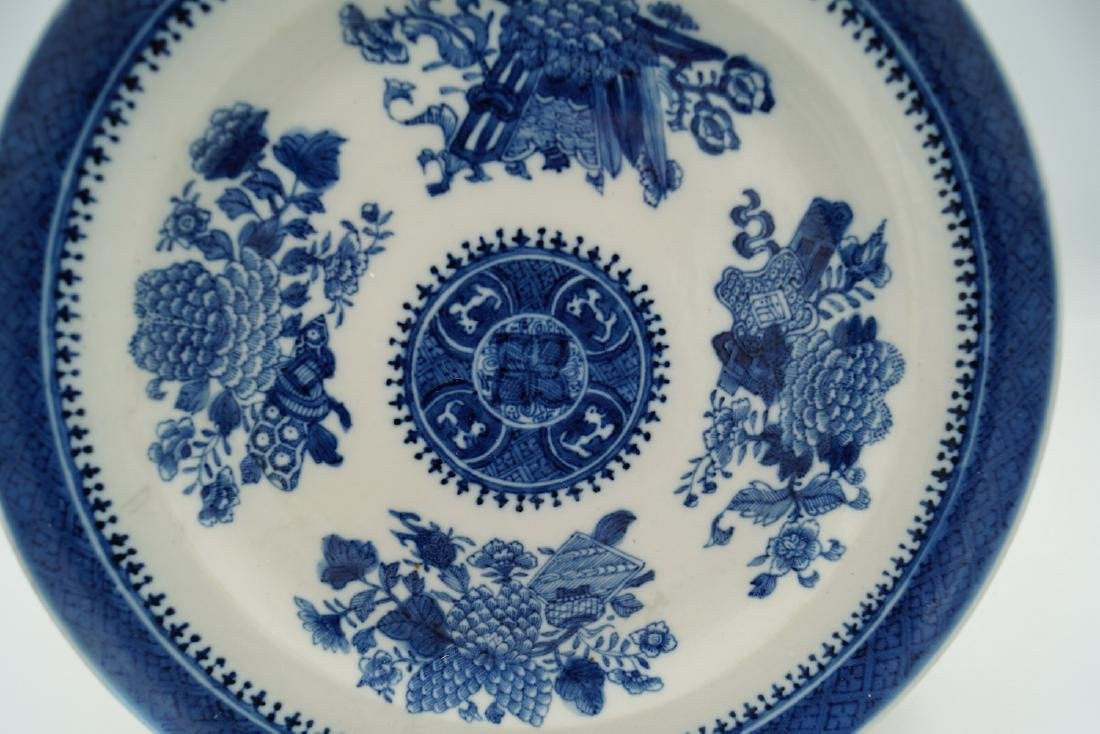 NANKING BLUE & WHITE PLATE - 3