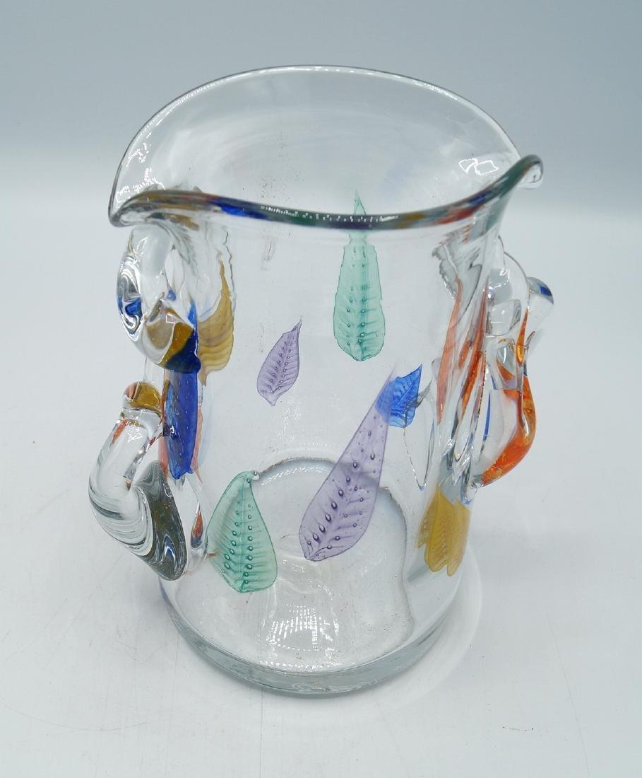 CRYSTAL ART GLASS VASE  SGN. - 4