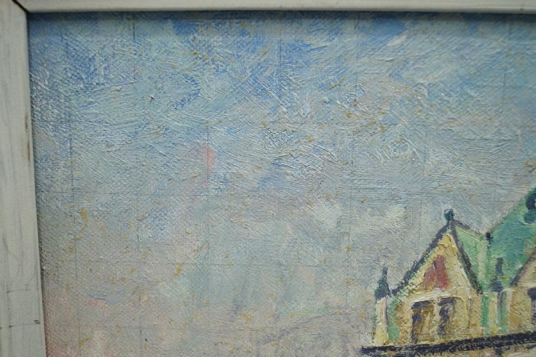"""ROGER DENNIS 1966 SGN.  OIL ON CANVAS AT VERSO """"NEPTUNE - 2"""