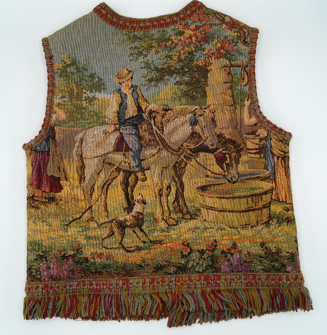 CHILDS MACHINE MADE TAPESTRY VEST - 3