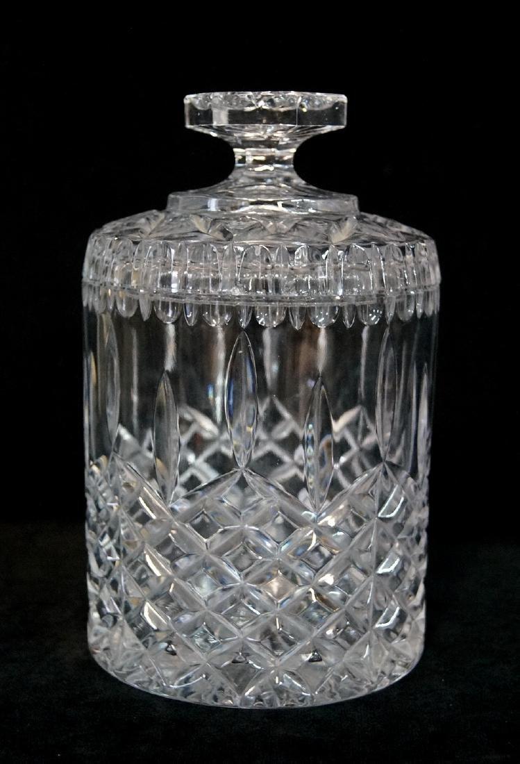 CRYSTAL TOBACCO JAR