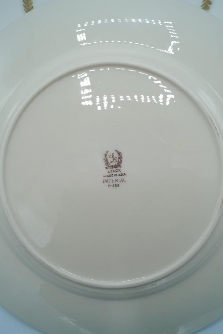 12 LENOX SALAD PLATES - 2